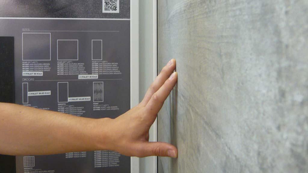 Gallery, sintiendo texturas